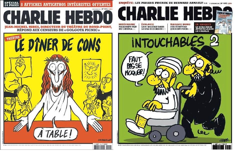 charlie hebdo une magazine charb caricature bordelaise by mimi. Black Bedroom Furniture Sets. Home Design Ideas