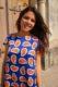 Look-Boutique-Addict-Robe-Orange-Bleue-Blog-Mode-Bordeaux