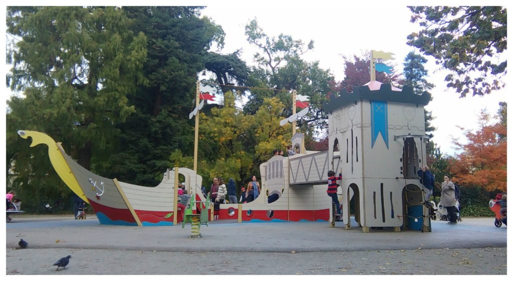 Jardin Public de Bordeaux - Bateau Pirate
