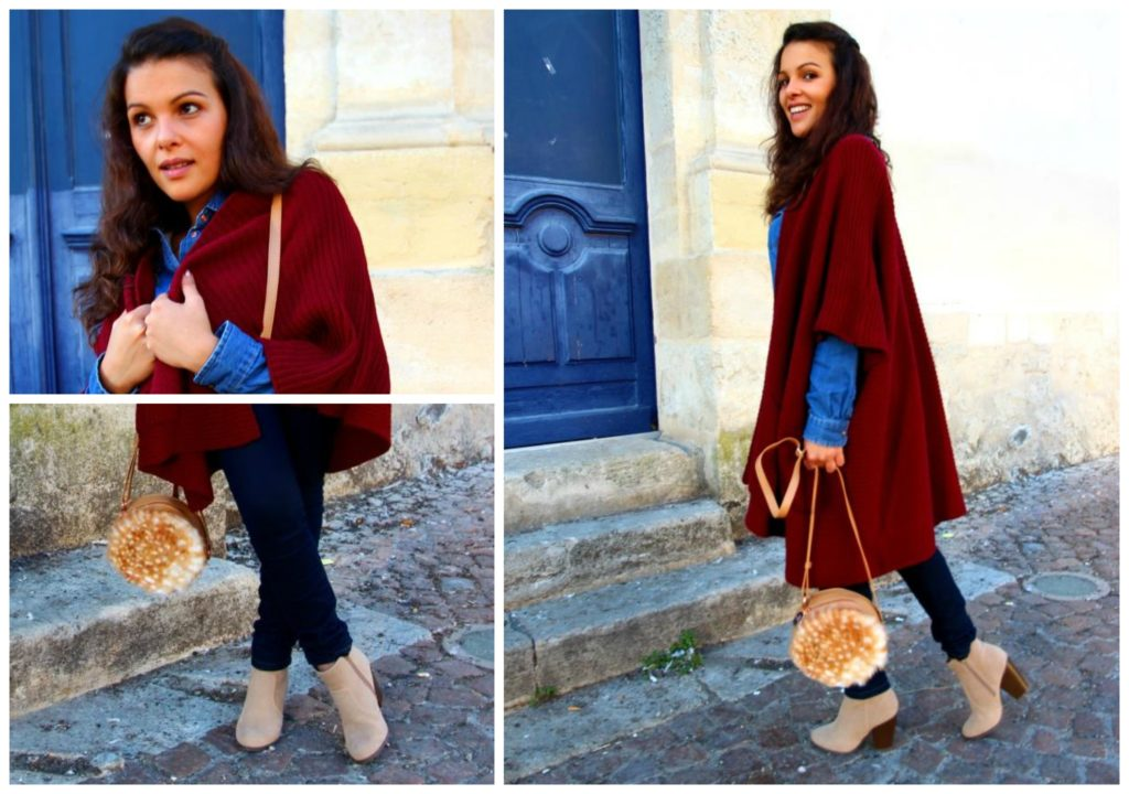 vegan shoes cardigan bordeaux