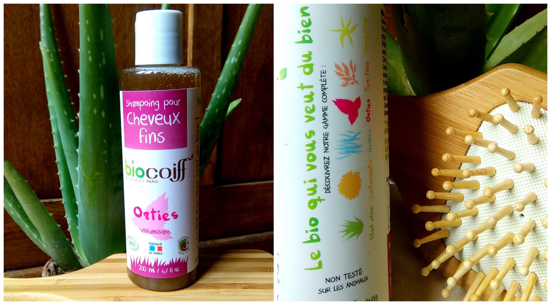 shampoing bio volume ortie biocoiff