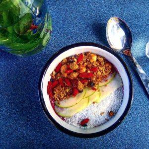 smoothie bowl vegan kokomo