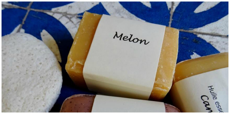 savon melon bordeaux