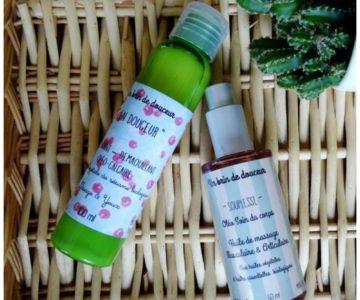huile de massage & démaquillant doux – Un brin de douceur