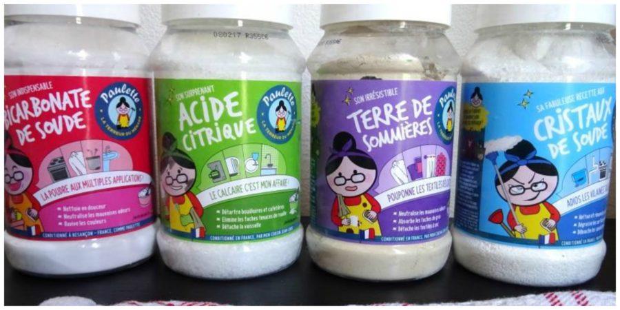 Bicarbonate de soude cristaux acide citrique paulette - Cristaux de soude ...