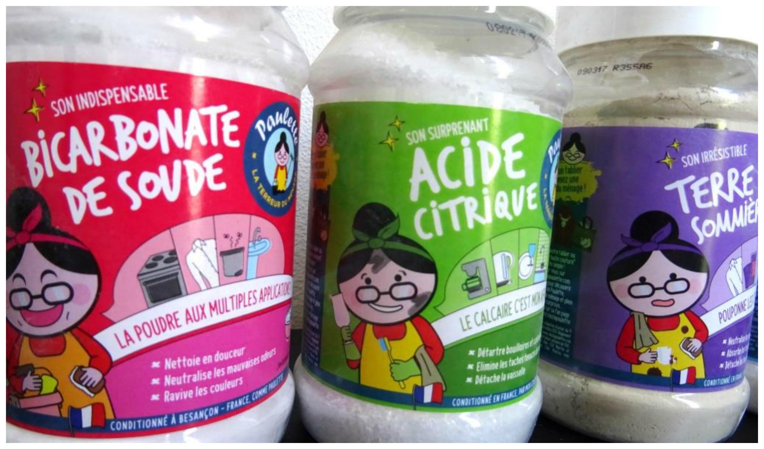 acide citrique ménage