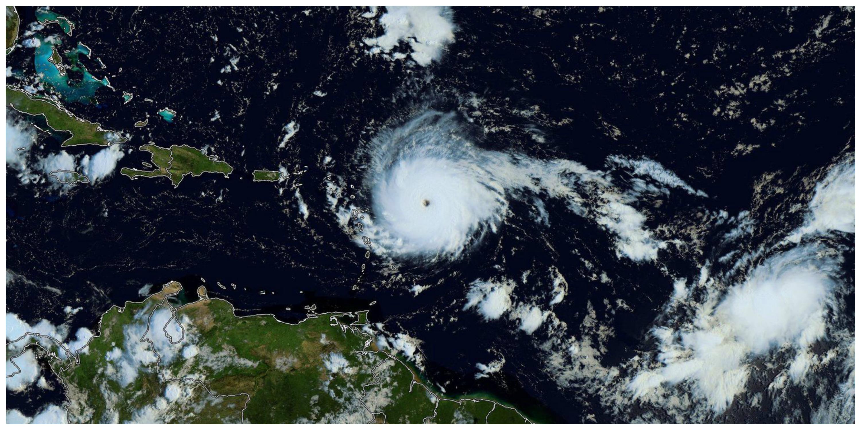 ouragan irma photo satellite