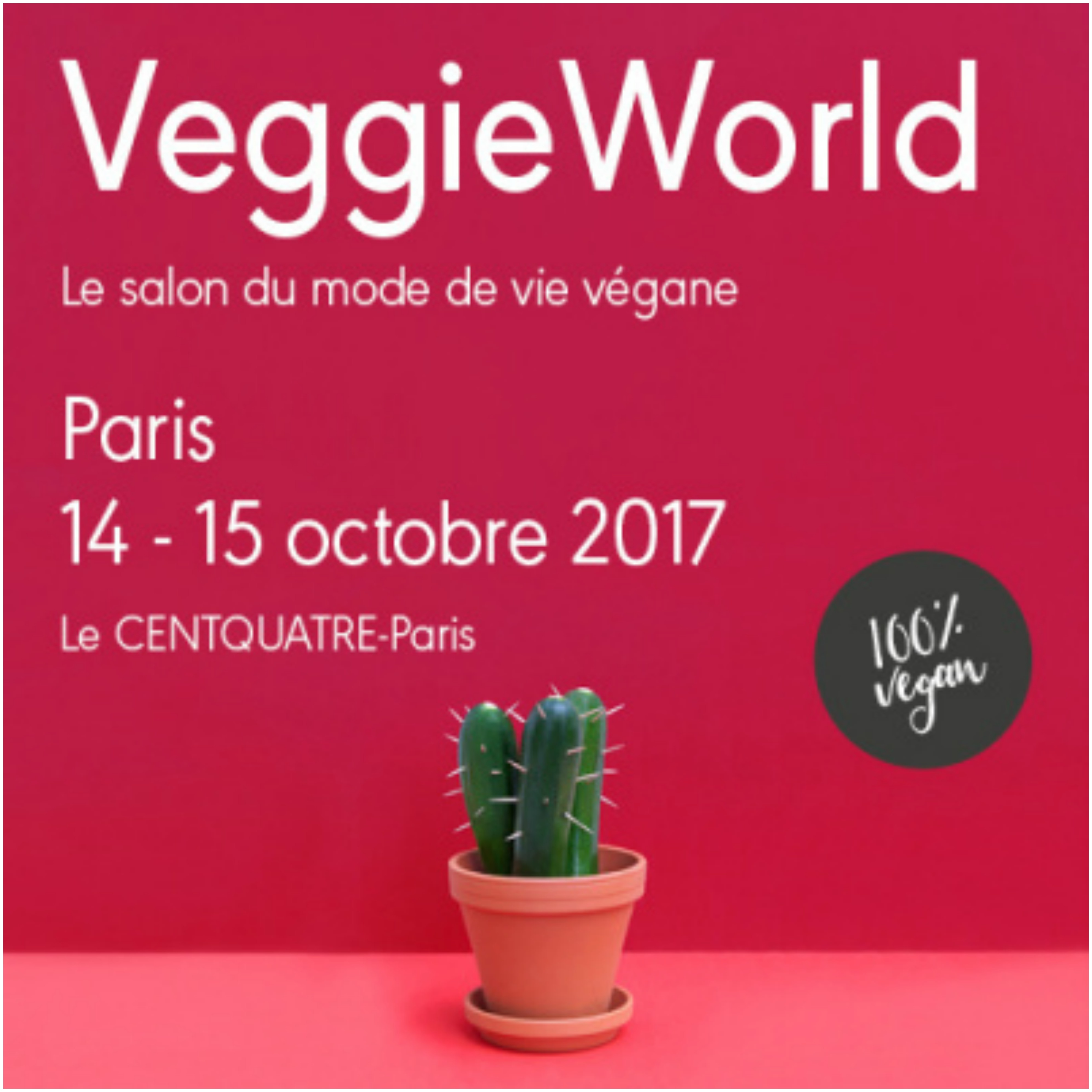 Retour sur le veggie world 2017 paris bordelaise by mimi for Salon vegan paris