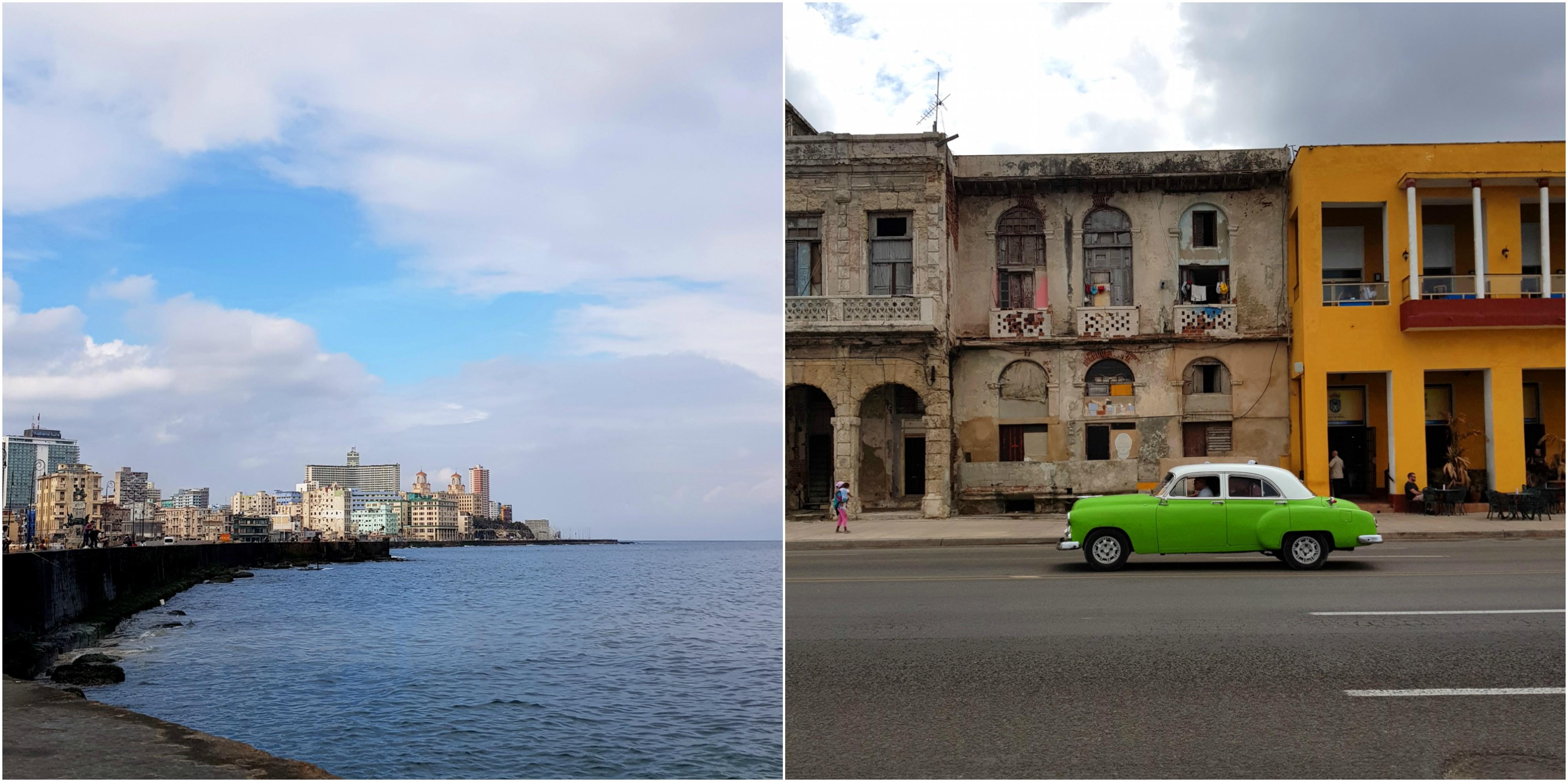 cuba-malecon-voiture-américaine-blog-voyage