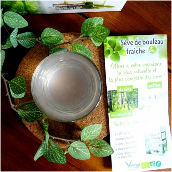 Cure de sève de bouleau avec Vegetal Water
