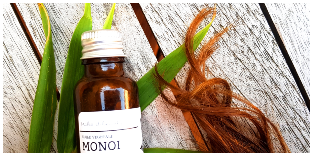 huile monoï cheveux