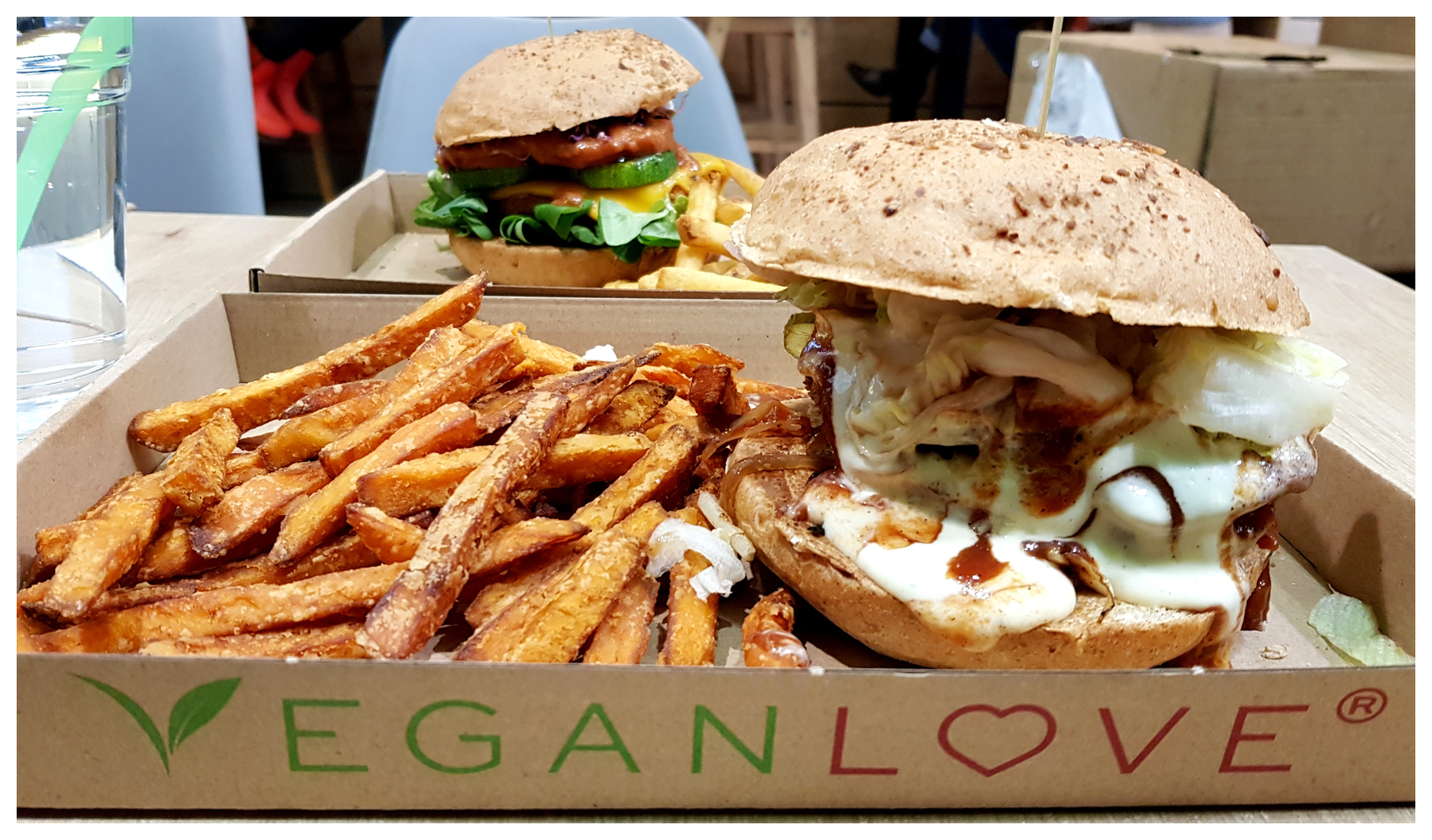 vegan-love-budapest-burger-hot-dog-fries-