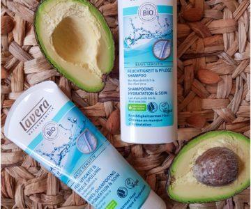 Shampoing vegan hydratant & soin démêlant Lavera