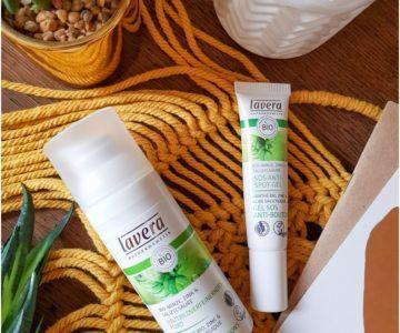 Fluide anti-imperfections & Crème SOS boutons Lavera