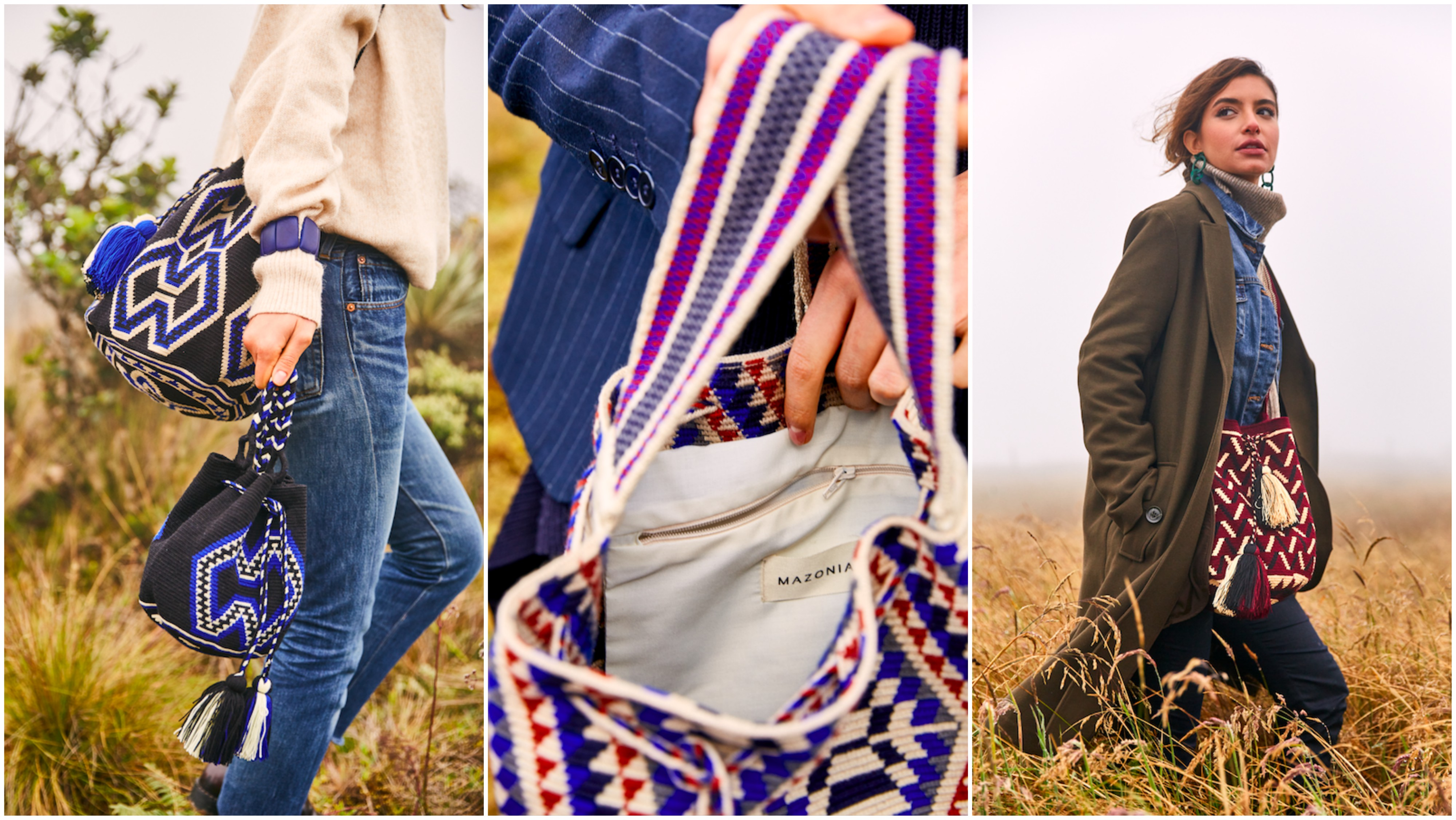sac éthique fait main wayuu