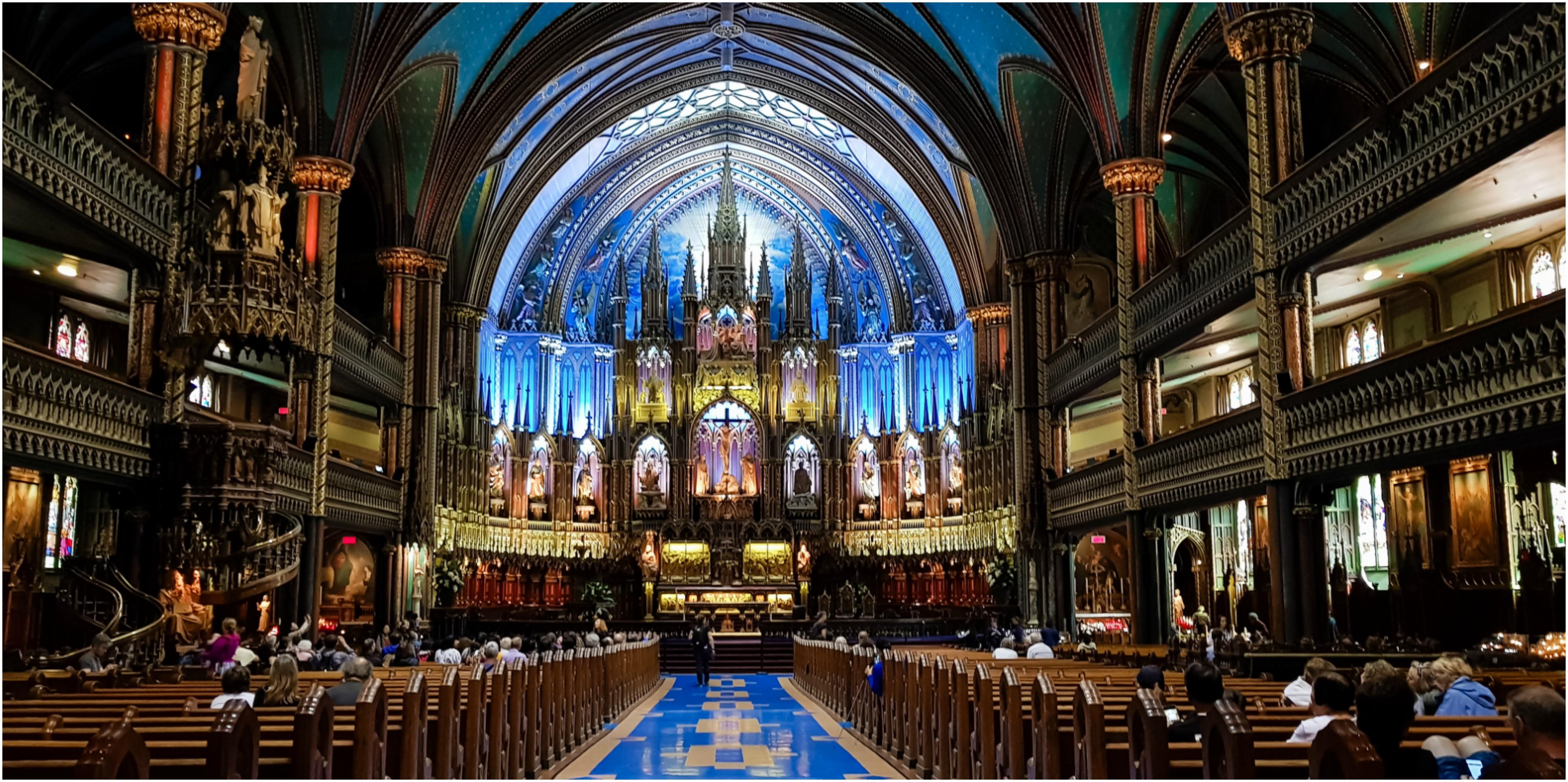 découvrir Montreal basilique