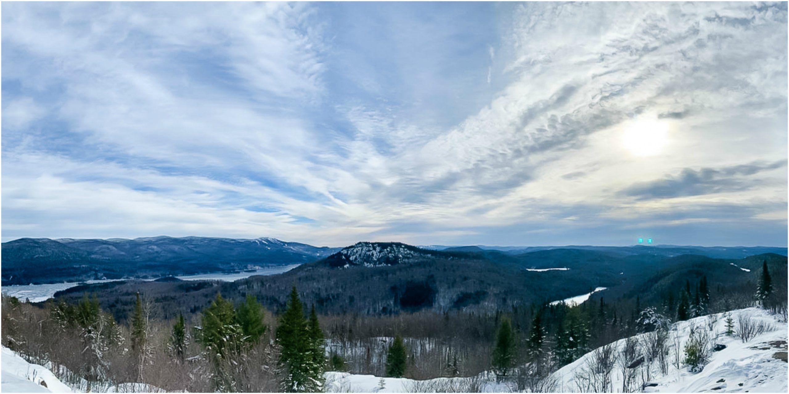 montagne verte canada