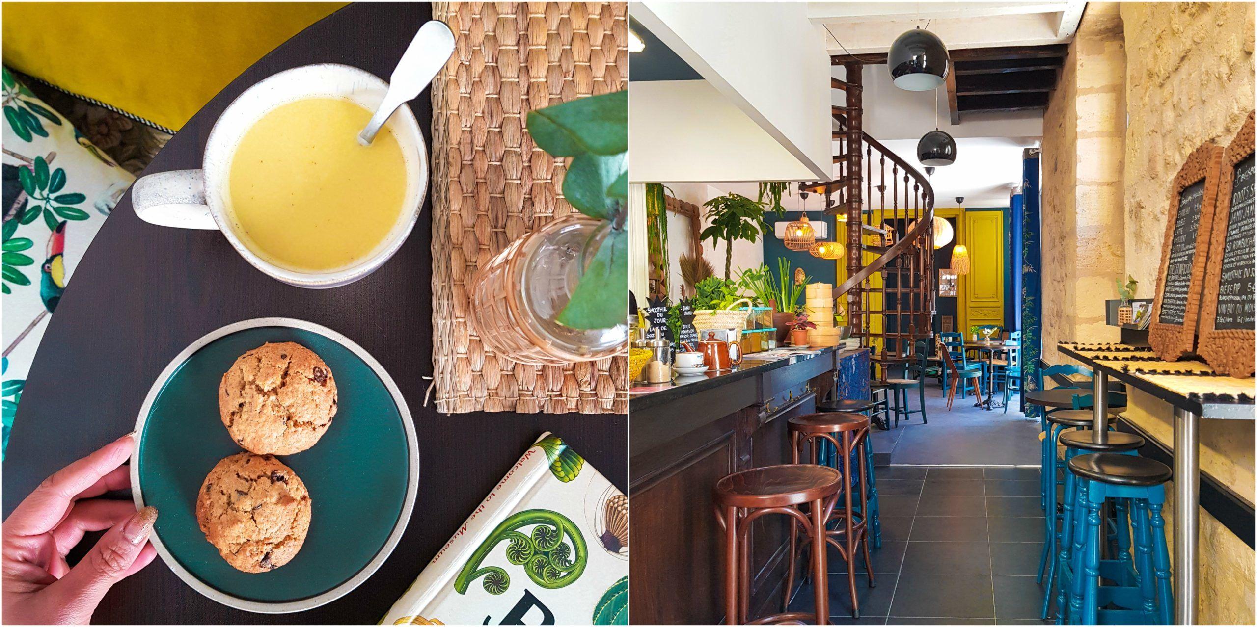 restaurant café végétalien à bordeaux