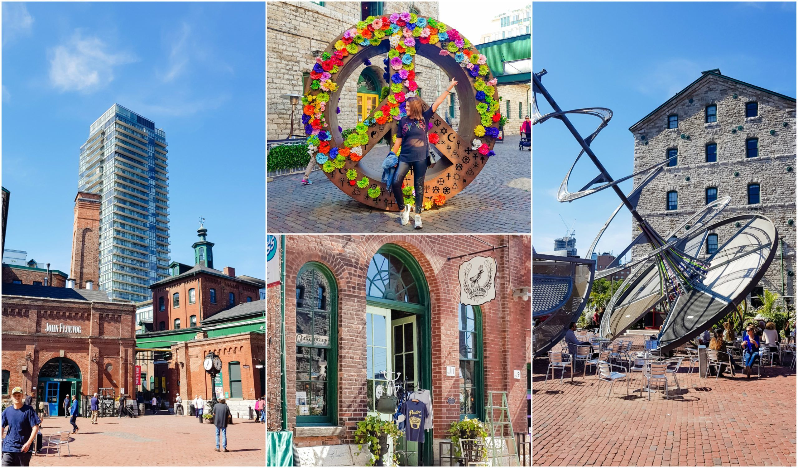 visiter toronto distillery district