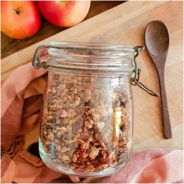 Granola maison vegan & healthy